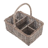 One Kings Lane - The Natural Look - Fete Willow Glass Caddy