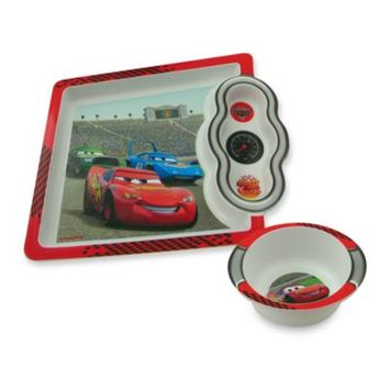 The First Years™ by Tomy Disney® PIXAR Cars 8 1/4-Inch x 7 1/4-Inch Plate