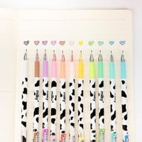 0.38 mm Cute Colorful Cow Diamond Gel Ink Pen Promotional Gift Stationery School & Office Supply