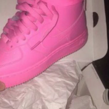 NEW Custom Pink Nike Air Force 1