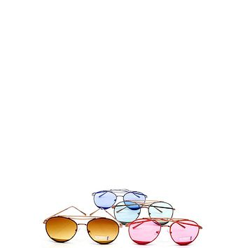 Modern Stylish Aviator Sunglasses