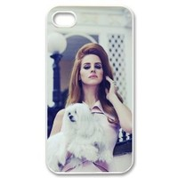 Lana Del Rey iPhone 4 4s Case Hard Back Cover Case for iPhone 4 4s