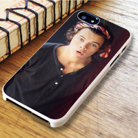 One direction 1D Harry Styles Bandana Boy band   For iPhone 6 Plus Cases   Free Shipping   AH1228