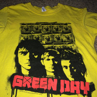 Sale!! VIntage GREEN DAY Tour 2009 T shirts band music tee