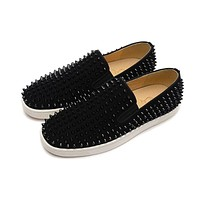 Christian Louboutin Fashion casual spike shoes