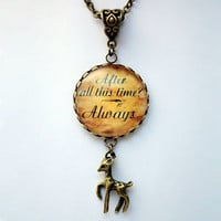 Snape's Memories, After All This Time Always Dow Patronus Necklace. Harry Potter