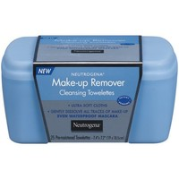 Neutrogena Makeup Remover Cleansing Towelettes, 25 Count - Walmart.com
