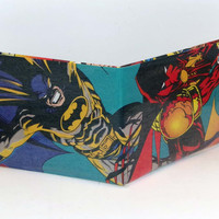 Comic Book Wallet// Batman and Azrael