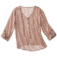 Mossimo Supply Co. Juniors Chiffon Top - Assorted Colors