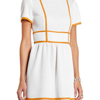 M Missoni Two-tone wool-blend dress – 50% at THE OUTNET.COM