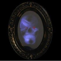 Motion Activated Haunted Mirror with Creepy Sound