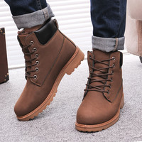 Men Winter Boots / Leather Boots