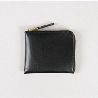 comme des garcons classic leather wallet Oak