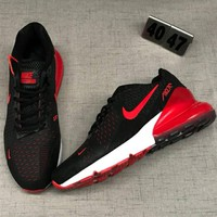 NIKE AIR Max 207 Men Fashion Casual Running Sport Casual Shoes Sneakers Black Red G-CSXY