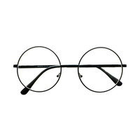 Clear Lens Retro Vintage Style Metal Round Eye Glasses Frames R52
