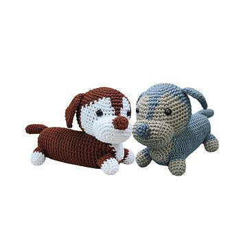 Ravelry: Boxer Dog pattern by Sally Muir and Joanna Osborne | 354x354