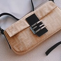 Fendi 2020 new canvas women's wild bag bag shoulder bag crossbody bag