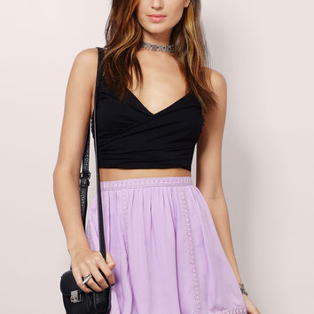 Inside The Lines Skater Skirt