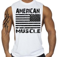 Fitness Men Tank Top Bodybuilding gyms clothing Sporting Wear Vest muscle Stringer cotton Undershirt