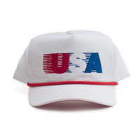 All American Rope Hat - White