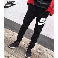 NIKE Newest Popular Unisex Leisure Print Sport Pants Trousers Sweatpants