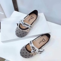 Dior Girls Boys shoes Children boots Baby Sandle Toddler Kids Child Fashion Casual Sneakers Sport Shoes