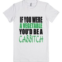Cabbitch-Female White T-Shirt
