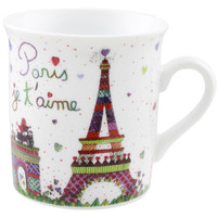 Disney Parks Epcot France Paris Je T ' Aime Tower Eiffel Mini Mug New