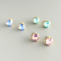 Delicate Princess Earrings Stud Set