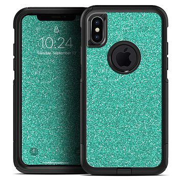 Sparkling Teal Ultra Metallic Glitter - Skin Kit for the iPhone OtterBox Cases