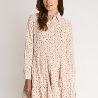 Be Your Babydoll Printed Dress | Ruche