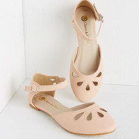 ModCloth Darling Love and Appreciation Flat in Pink