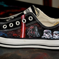 Custom Hand Painted Shoes- Star Wars