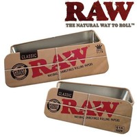 Raw Roll Caddy Metal Rolling Case