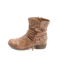 STRAPPY HARNESS ANKLE BOOT
