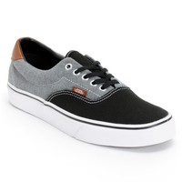 Vans Era 59 Black Canvas & Chambray