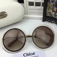 Chloe Woman Fashion Summer Sun Shades Eyeglasses Glasses Sunglasses