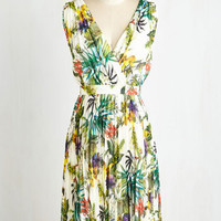 Mid-length Sleeveless A-line Flora Once in My Life Dress