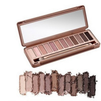 New Nake 3 Professional Makeup Glitter Eye shadow Palette 12 Colors with brush