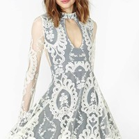 For Love & Lemons Anna Lace Dress