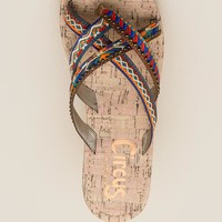 Circus by Sam Edelman Bronx Embroidered Thong Sandal