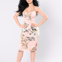 Miami Bay Dress - Pink