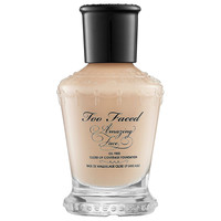 Sephora: Too Faced : Amazing Face Oil Free Close-Up Coverage Foundation : foundation-face-makeup