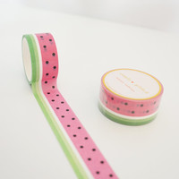 Juicy Watermelon Washi tape Hawaii Aloha Collection 2016