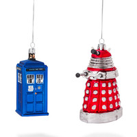 Doctor Who Figural Holiday Ornaments - Yellow Dalek
