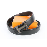 Hermes belt men's and women's casual casual style H letter fashion belt59