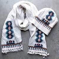 Final Sale - Chaser - Campfire Knit Fringed Scarf