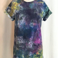 Abstract Mineral Hand Painted Tee