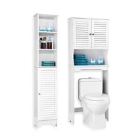 Louvre Bath Furniture - White
