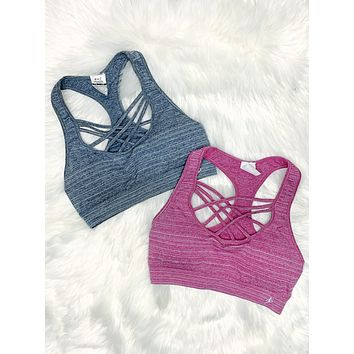 Caged In Sports Bra: Multiple Colors